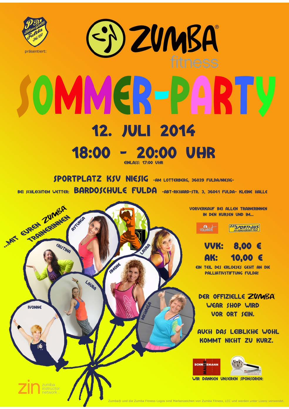 Plakat Party
